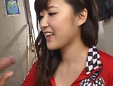 Harukawa Sesera loves handling huge hard cocks