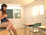 Harukawa Sesera in raunchy toy session indoors