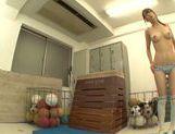 Naughty Mikuni Maysaki enjoys impressive solo picture 14