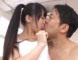 Suzuka Morikawa nice Asian teen gets position 69 and facial picture 11