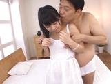 Suzuka Morikawa nice Asian teen gets position 69 and facial