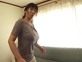 Nozomi Mikimoto  gets on top for a crazy dick riding