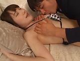 Ebina Rina has her juicy muff screwed good