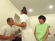 Yuu Sakura gets oiled and fucked so good
