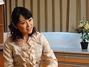 Erina Sugisaki, mature babe, fucked hard and made to swallow