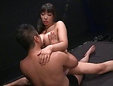 Beauty queen Sankihon NozomiIku gets humped wildly picture 12