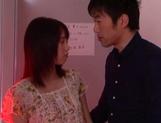 Hot teen gal with saved pussy Iku Natsumi gets licked and nailed