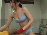 Sexy Asian chicks enjoying a spicy threesome