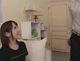 Ebina Rina fucked and creamed afterwards