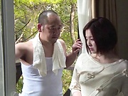 Yuuka enjoys having her pussy nailed deep