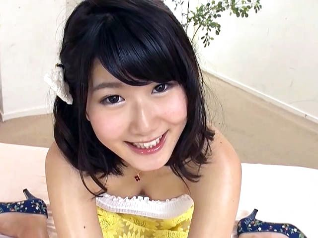 Horny guys enjoying threesome with a charming JP chick Rara Unno: Shaved  Japanese Pussy Videos