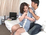 Kiriyama Anna gets her vagina screwed good picture 11