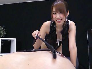 Cute Seira Matsuoka has her pussy nailed