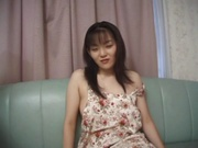 Delicious Asian girl ,Rika, with sexy body gets stuffed with two cocks