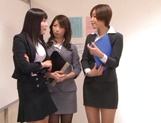 Top Japan teachers enjoys student's dick in her vagina picture 1