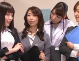 Top Japan teachers enjoys student's dick in her vagina picture 4