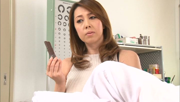 Crazy Japanese mature teacher Yumi Kazama gets her big tits fucked picture 11