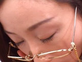 Kinky female teacher Shizuku Morino sucks and rides dick on pov picture 17