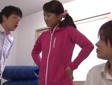 Sexy female teacher in sexy swimsuit Nodoka Yamagishi gets body explored