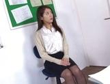 Naughty Japanese teacher Hikari Nishino  is fucked properly picture 12