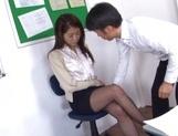 Naughty Japanese teacher Hikari Nishino  is fucked properly picture 15