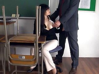 Superb blowjob session in action with Hirose Yoko