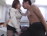 Cute Asian babe in stockings hot footjob