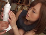 Asian teacher Kirishima Rino gets pounded hard picture 10