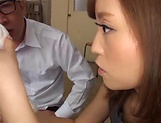 Asian teacher Kirishima Rino gets pounded hard picture 8