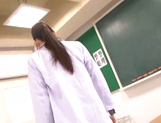 Teacher with big tits delights with student's fat dick picture 11