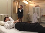 Asian milf Hatano Yui gets cock deep in her needy pussy