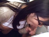 Hirose Yoko giving head as she fingers her cunt picture 43