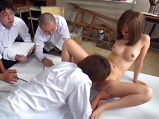 Japanese teacher av public sex