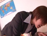 Hot milf enjoys school sex with a needy student picture 12