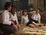 Group sex Japanese experience for Azusa Isshiki picture 5