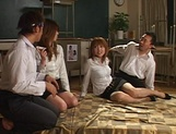 Group sex Japanese experience for Azusa Isshiki picture 6