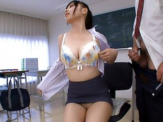 Hot milf enjoys a sensual masturbation
