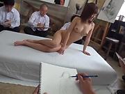 Sensational teacher Kirishima Rino enjoys steamy gang bang