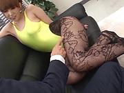 Amazing Japanese teacher, Hatano Yui, fucked in the office