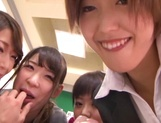 Gorgeous Asian teachers enjoy this large penis picture 12