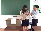Hirose Yoko has her twat rammed in class picture 14