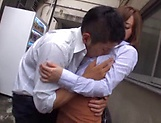 Hot Asian Kirishima Rino gets fucked hardcore doggy style