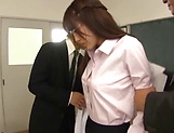 Stunning Iioka Kanako enjoys two hunk men picture 13