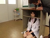 Stunning Iioka Kanako enjoys two hunk men picture 3