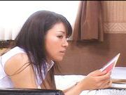 Urekko Is An Asian Tramp Who Likes Masturbation And Blowjobs