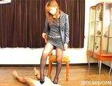 Yu Aizawa Footjob Japanese Tramp Knows How To Party picture 7