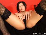 Yui Komine Riding Dildo Asian Tramp Enjoys Her Portable Fuck Buddy picture 11