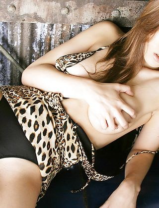 Yuki Touma Hot Model Is Showing Off Her Tight Body