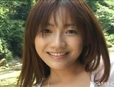 Izumi Yamaguchi Pretty Asian Model Showinf Off Her Body