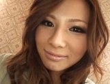 Marika Asian model shows off hairy wet pussy